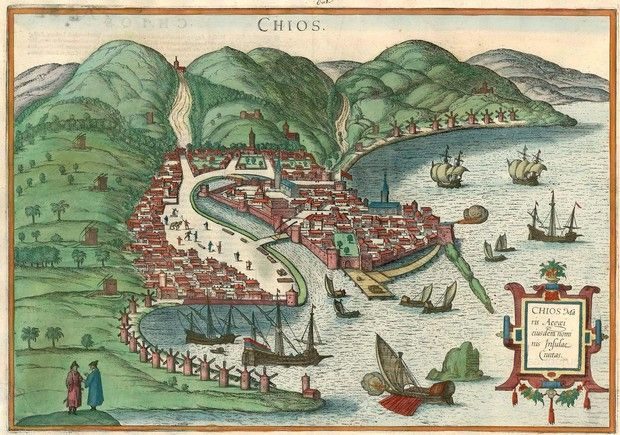 digital history of society in Greece | Ionia | Chios