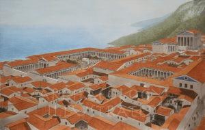 digital history of society in Greece | Ionia | Priene