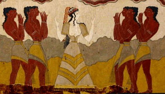 digital history of Minoan Crete | people