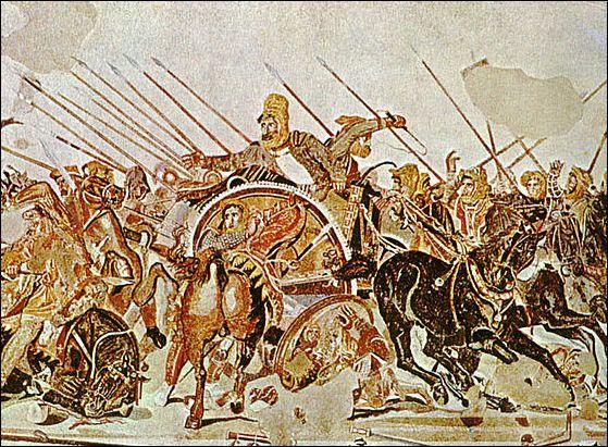 campaign in Asia | attack on the Persian Empire