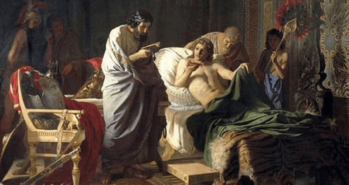 digital history of Alexander the Great | demise