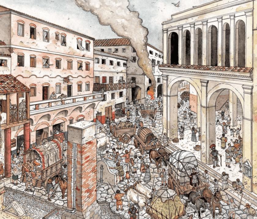digital history of society in Rome | Rome
