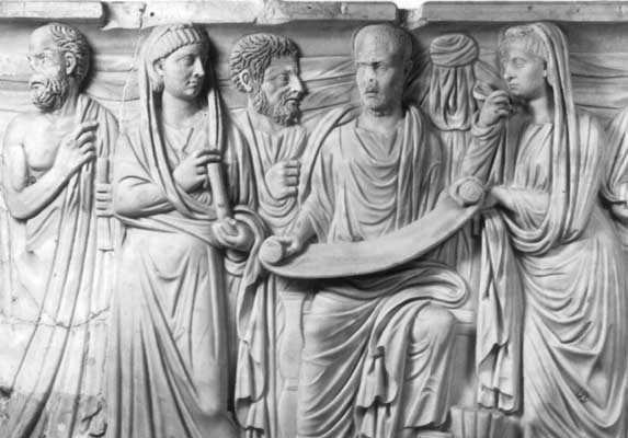 digital history of culture in Rome | philosophy | later development