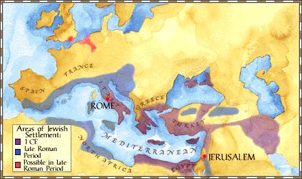 Roman Judea | dispersion