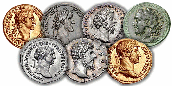 digital history of the economy of Rome    coinage