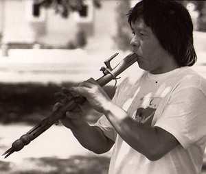 reuben kent plays flute