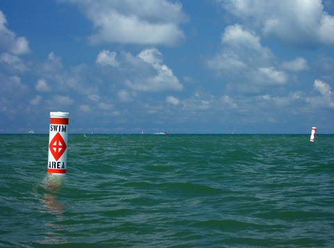 buoy in lake