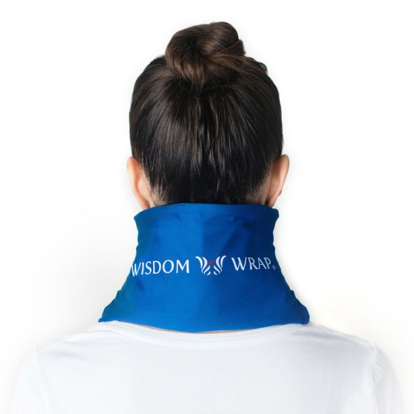 WISDOM WRAP® Hot and Cold Wrap for the Neck