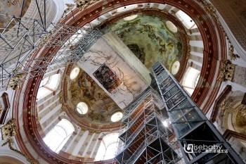 奧地利 | 卡爾教堂。融和式混搭風維也納推薦教堂景點