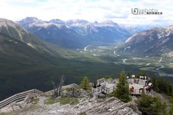 加拿大   班夫推薦必去景點。Banff Gondola班夫琉璜山纜車
