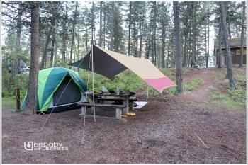 加拿大露營   遇見大角羊國家公園營地。Redstreak Campground
