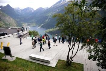 挪威 | 老鷹之路。欣賞蓋倫格峽灣最棒的觀景台