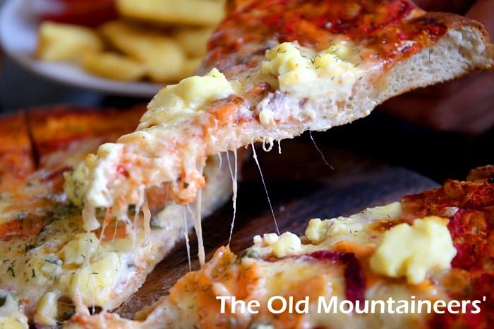 紐西蘭美食推薦.庫克山必吃披薩The Old Mountaineers' Cafe