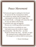 peace, 60s, make love, not war, Twiggy, sonnet, poetry, poem, youth