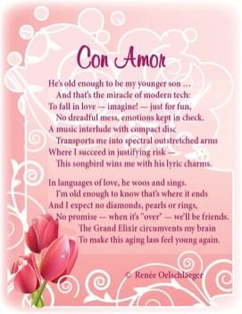 Con-Amor, love poem, music, songbird, language of love, grand elixir, sonnet, poetry, poem