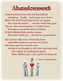 abandonment, divorce, infidelity, despair, saying goodbye, sonnet, poetry, poem
