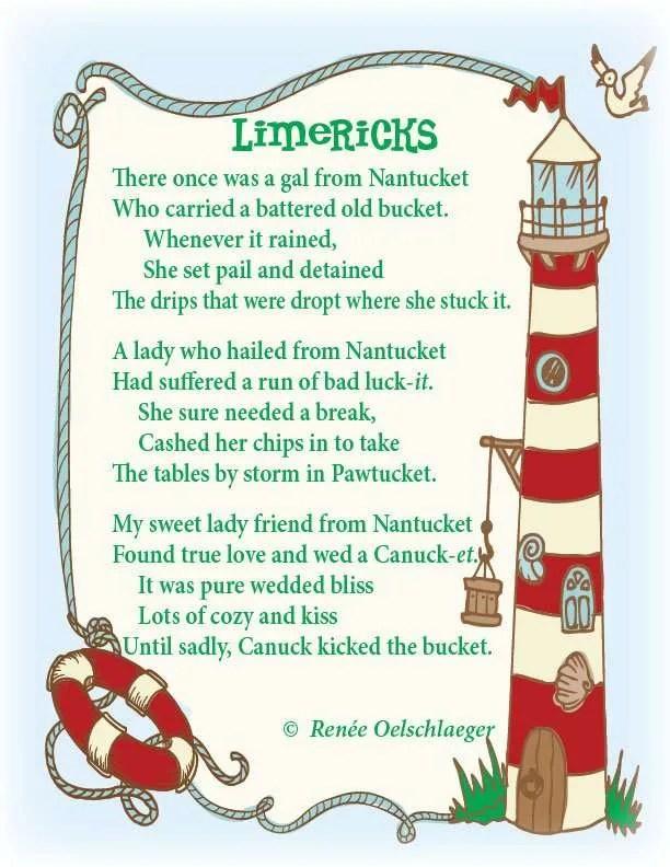 Nantucket-Limericks, limerick, Nantucket, poetry, poem, light verse
