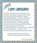 Love-Language, name that tune, love,