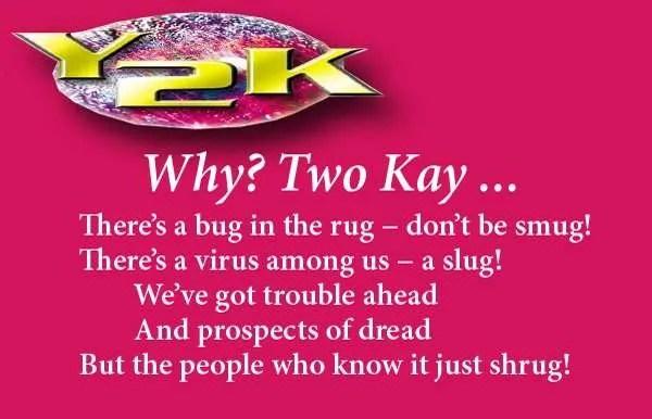 Y2K, poetry, poem, verse, whimsy
