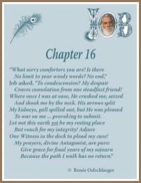 Job Chapter 16, sonnet, Job, poetry, poem