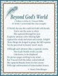 Beyond God's World
