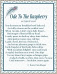 Ode to the Raspberry