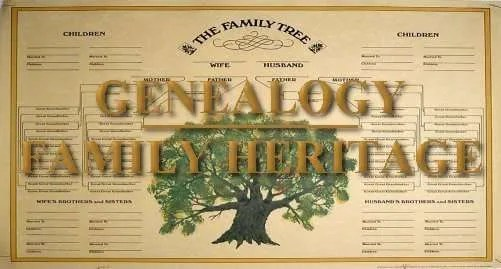 fam tree genealogy