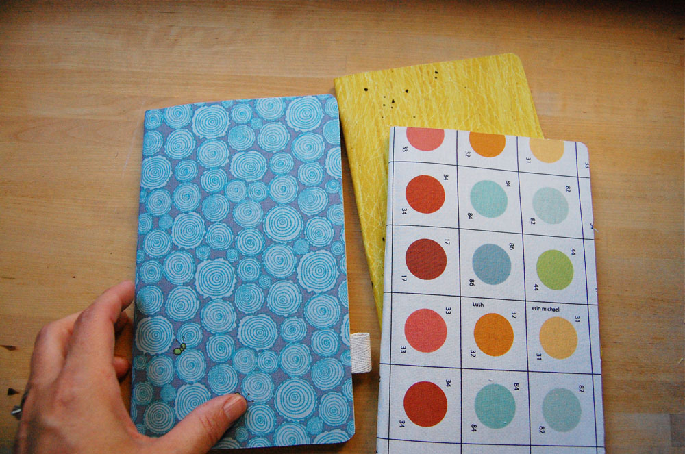 DIY Fabric Covered Notebook