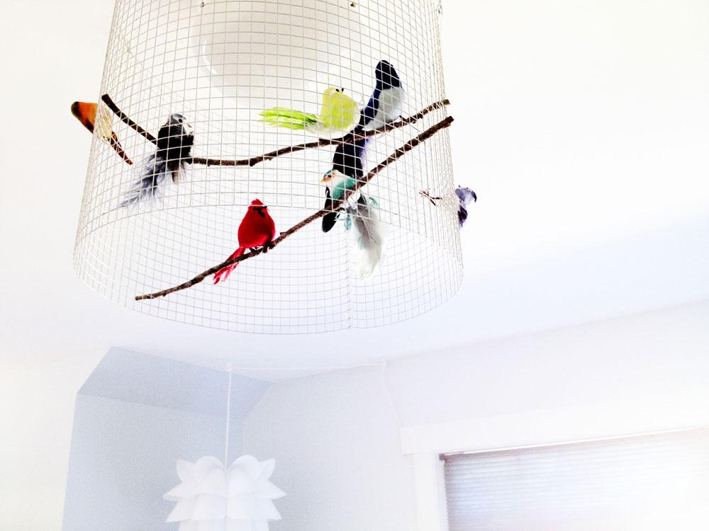 DIY bird light