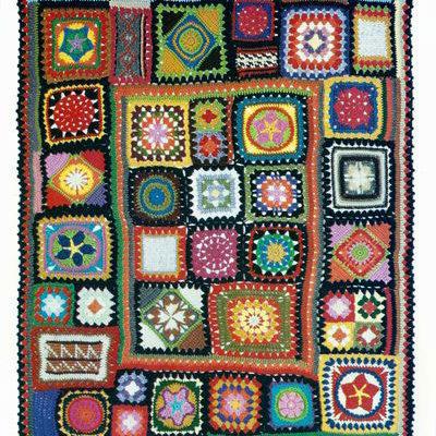 The Granny Square Sampler Afghan