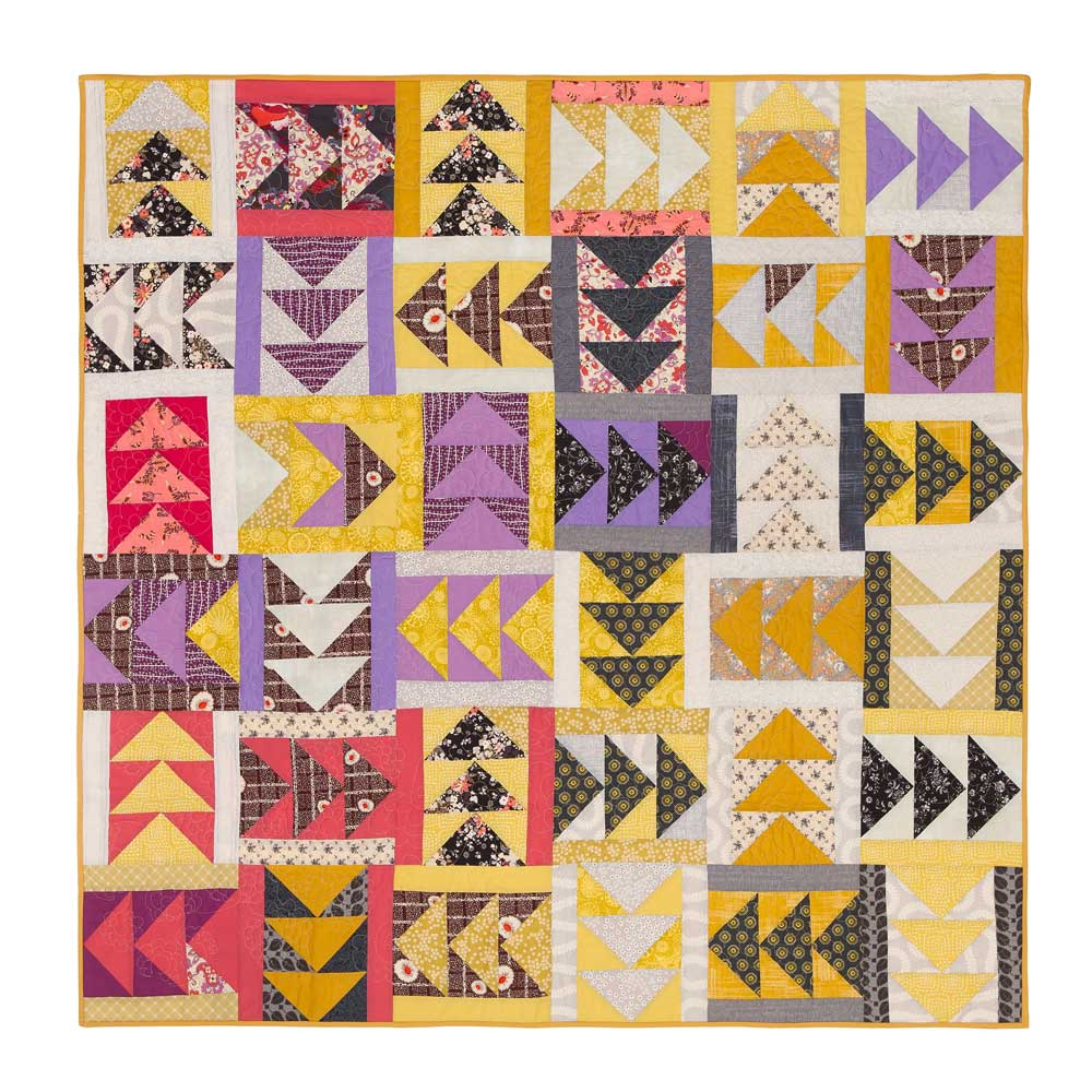 Flying Geese Quilt by Wise Craft Handmade