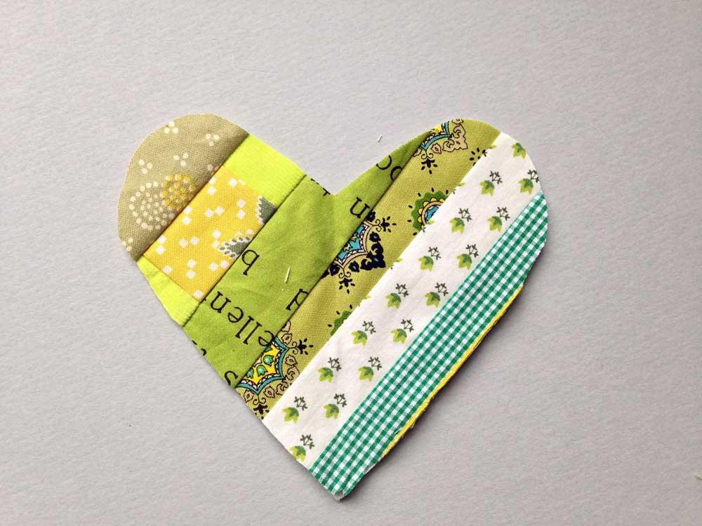 Scrappy Heart DIY Valentine