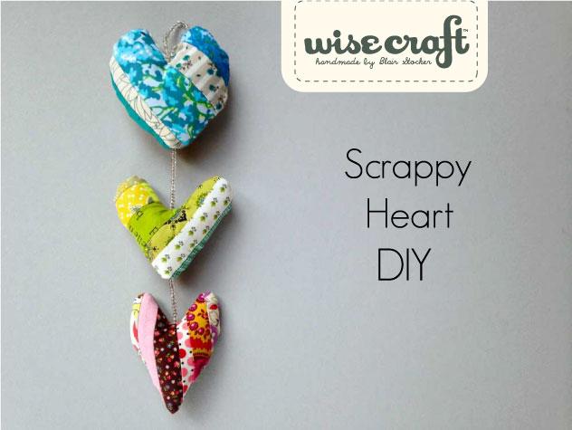 Scrappy Heart Valentine