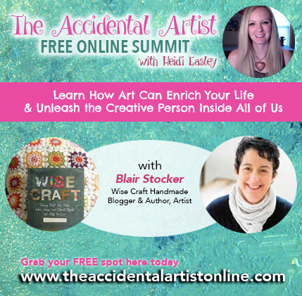 The Accidental Artist Interview with Blair Stocker of Wise Craft Handmade