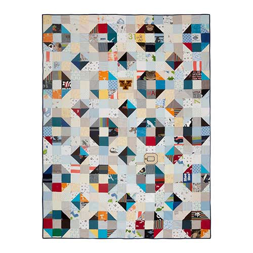 Custom Quilt Made From Baby Clothes Wise Craft Handmade