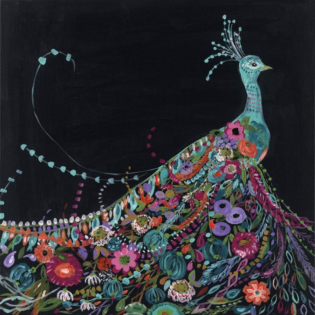 Peacock by Bari J