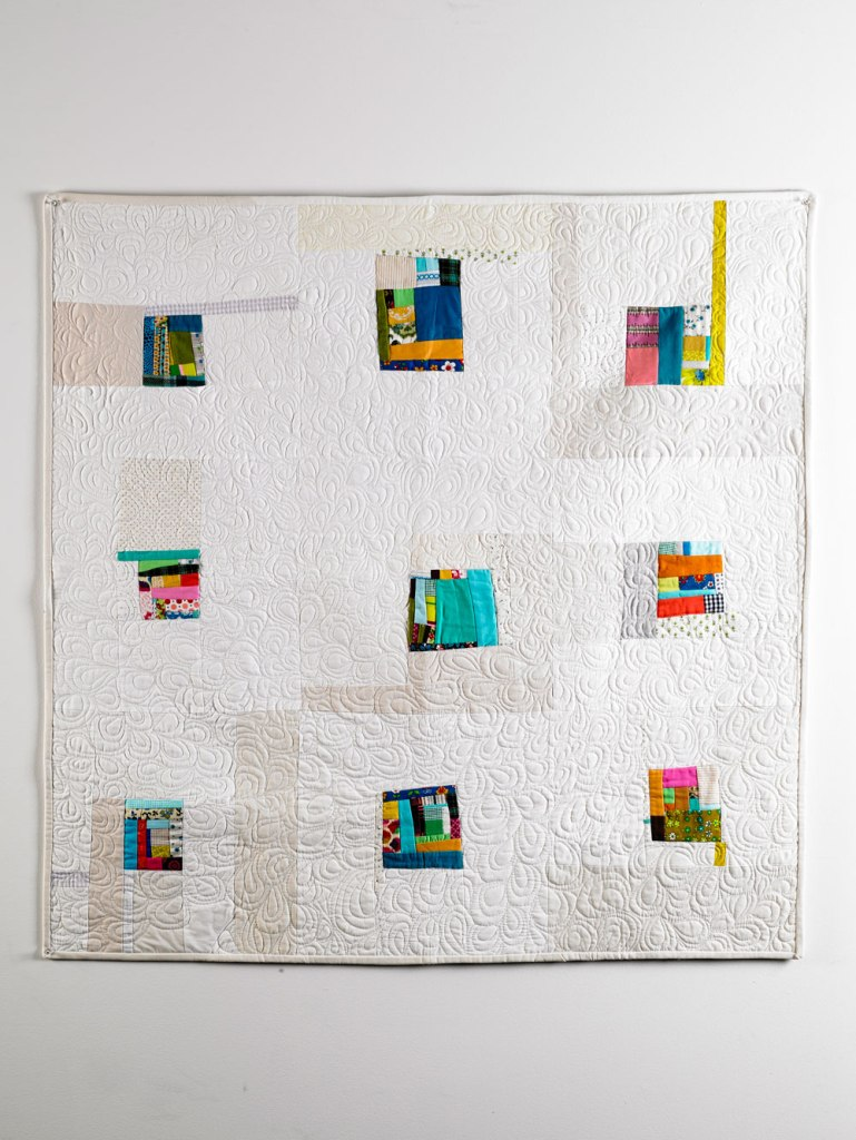 Jewel Boxes Modern quilt
