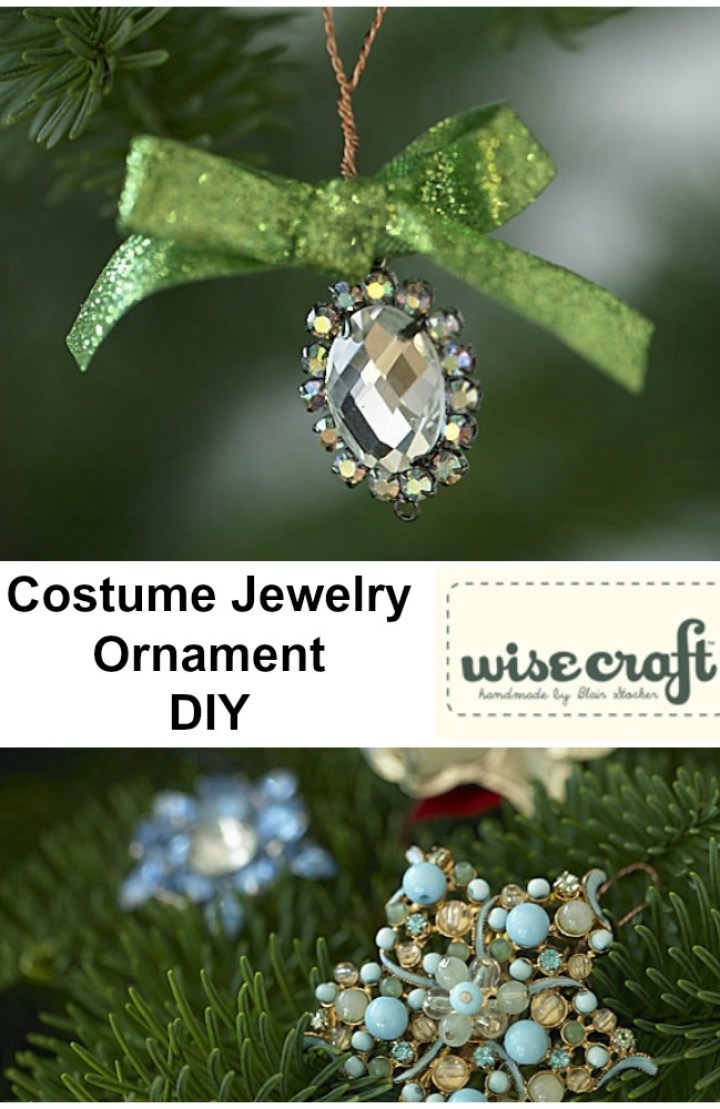 Holiday Ornament DIY by Wise Craft Handmade