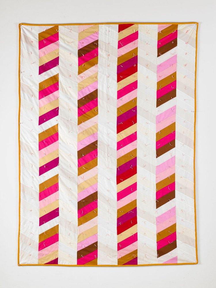 easy modern quilt