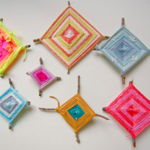 How to Weave Ojo de Dios or God's Eye