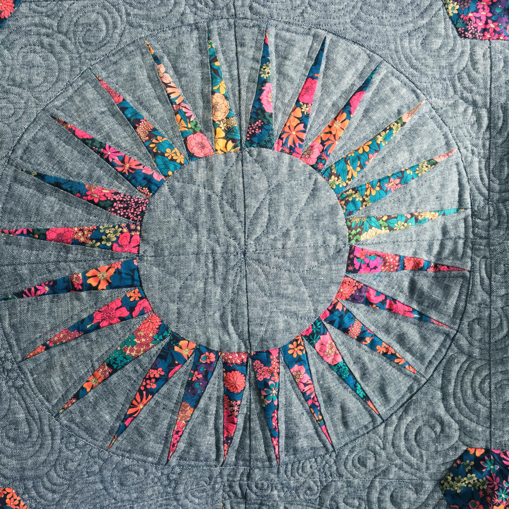 liberty spikes quilt 6