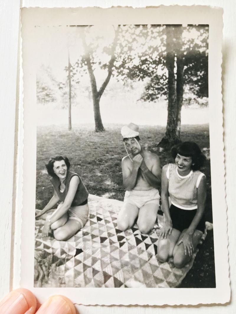 Vintage Quilt Photo