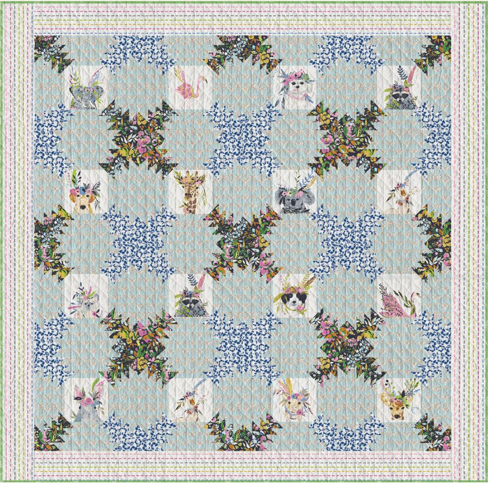 Floraison Quilt