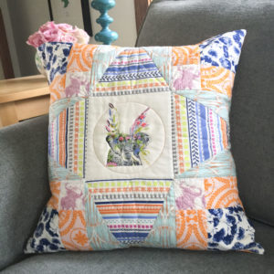 Floral Safari Pillow Pattern