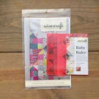 Interwoven Quilt Pattern/Ruler combo