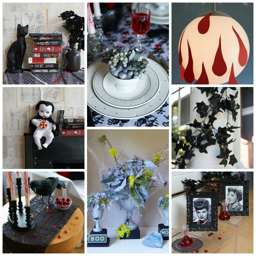 Halloween projects collage 2