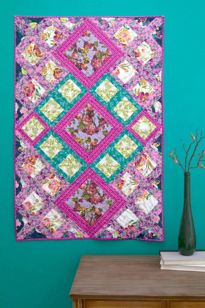 Upstage Quilt free pattern