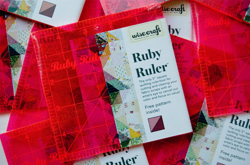 Ruby Ruler by Wise Craft handmade