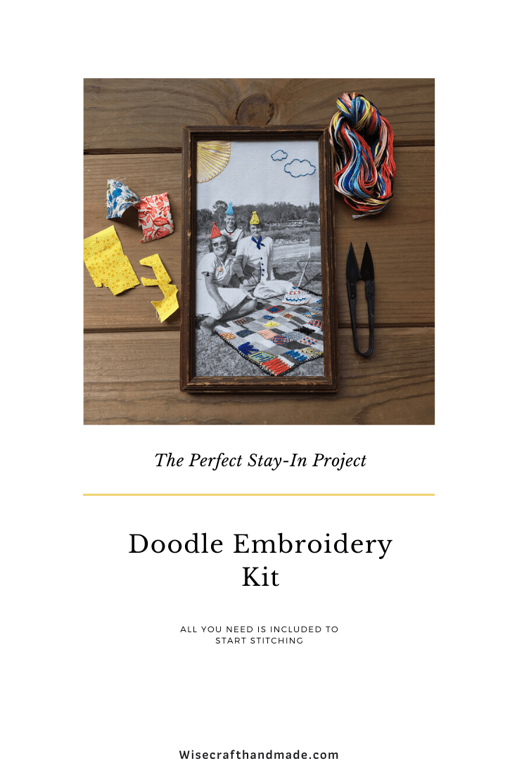 Complete Embroidery Kit