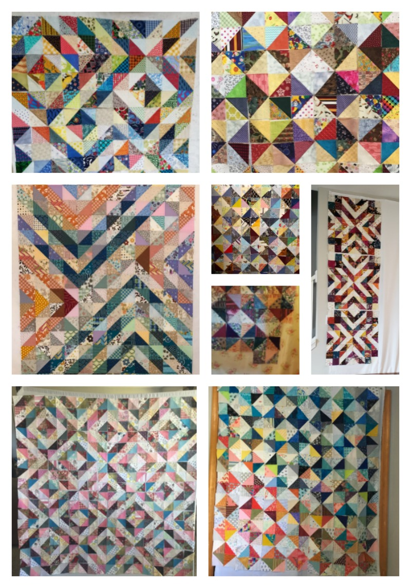 Modern Scrap Quilts Using Color Value Online Class Work